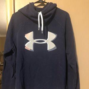 Navy Blue Under Armour sweatshirt